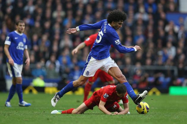 Everton FC: Why the Toffees Need Marouane Fellaini Back in Midfield
