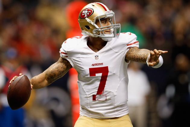 Colin Kaepernick: Fantasy Projection for 49ers QB vs. Rams in Week 13