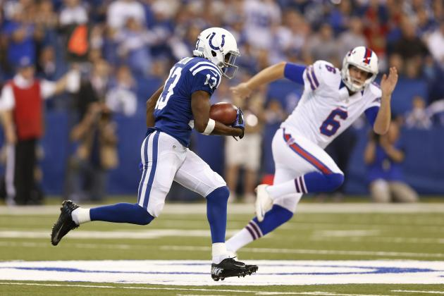 AFC South All-22 Review: Colts' T.Y. Hilton Gets Some Blocking