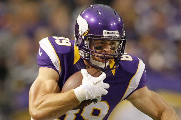 John Carlson Battling Through First Season with the Minnesota Vikings