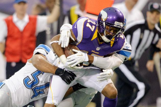 Jarius Wright Is the One Thing Not Wrong with the WRs & More NFC North News