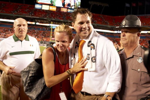 Canes Coach Al Golden Says His Wife Would Cry If They Left Miami