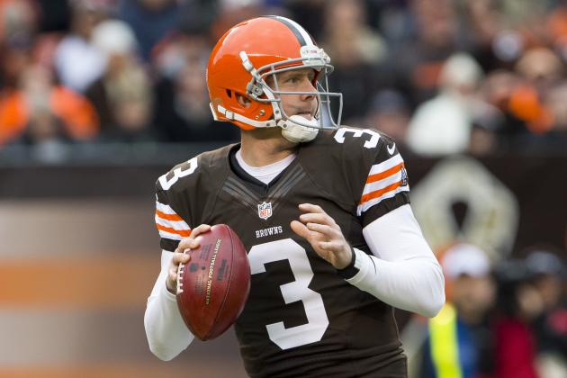 Brandon Weeden Reports to Browns Facility, but Concussion Could Sideline Him