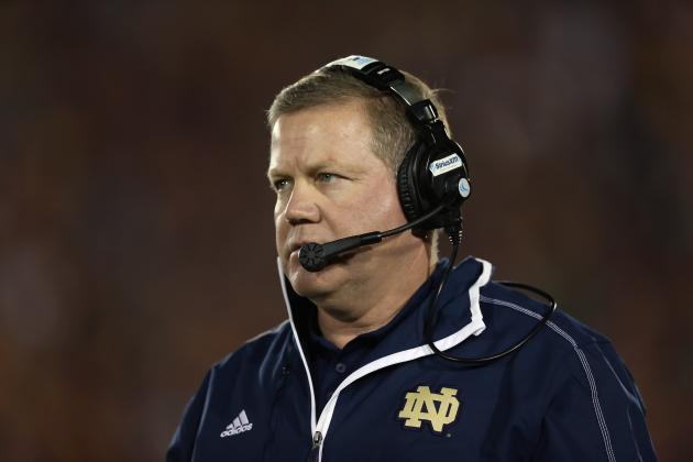 Notre Dame Football: Is Brian Kelly Better Coach Than Mark Richt and Nick Saban?
