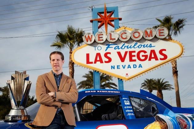 NASCAR's Newest King Arrives in Vegas