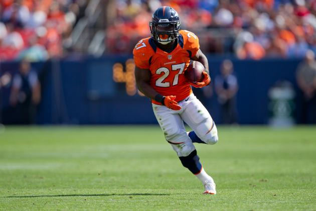 Knowshon Moreno: Broncos RB Is Good Fantasy Risk for Postseason Push