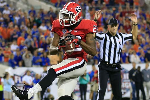 Georgia Receiving Corps 'A Little Banged Up'