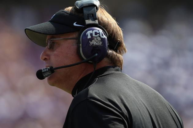 Gary Patterson Still Listening, but TCU Has a Lot to Offer