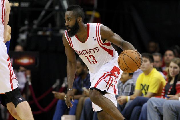 James Harden Proving OKC Thunder Made Wrong Move Letting Him Go