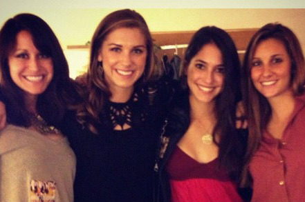 Alex Morgan Picks Up Assist in Return of Former Cal Pole Vaulter Allison Stokke