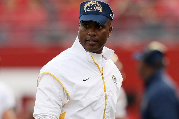 Kent State's Darrell Hazell Named MAC's Top Coach