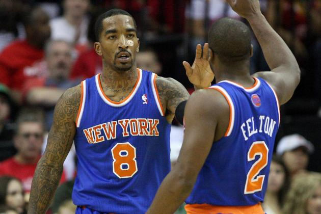 Who Is NY Knicks' Second-Best Offensive Weapon, Raymond Felton or J.R. Smith?