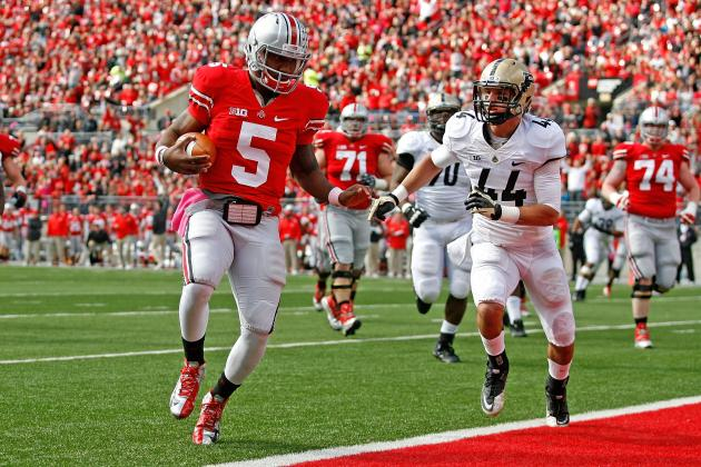 Why Is Braxton Miller the Big Ten Player of Year but NOT First-Team QB?
