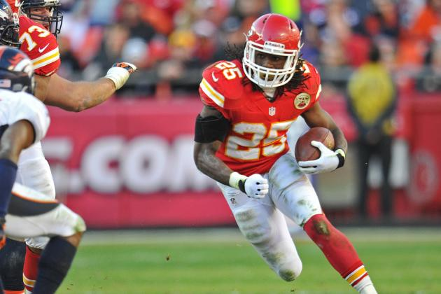 Jamaal Charles: Chiefs' RB in Line for Big Game, Strong 2012 Finish vs. Panthers