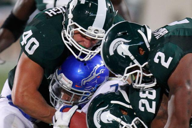 Le'Veon Bell Named All-Big Ten First Team, but Defense Snubbed by Media