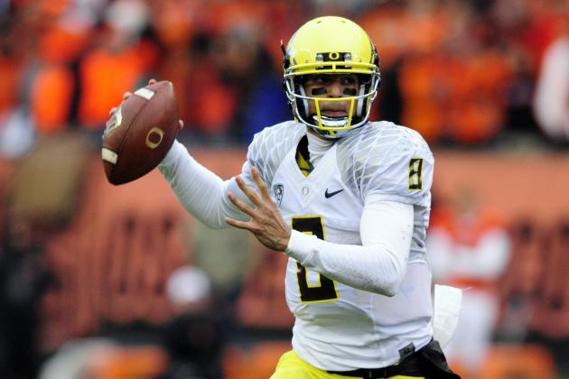Mariota Named Finalist for Manning Award
