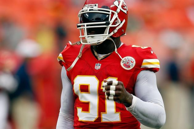 Chiefs' Hali Doesn't Practice Because of Sore Knee