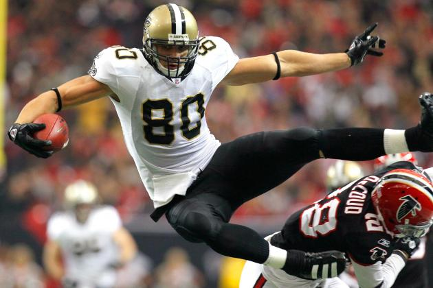 Week 13 Fantasy Football: Top 30 Tight Ends in Standard-Scoring Leagues