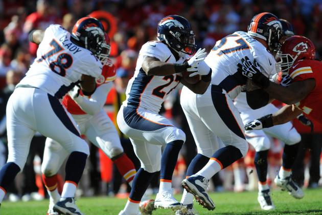 2012 NFL Fantasy Football Week 13: Flex Play Rankings/Projections