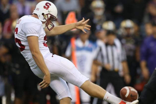 Ben Rhyne Steps Up to Help Kick Stanford into the Rose Bowl