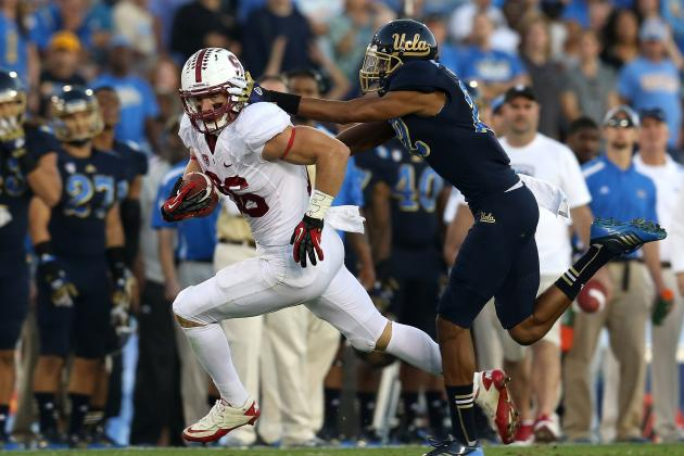 Stanford's Ertz, Yankey on All-American Team