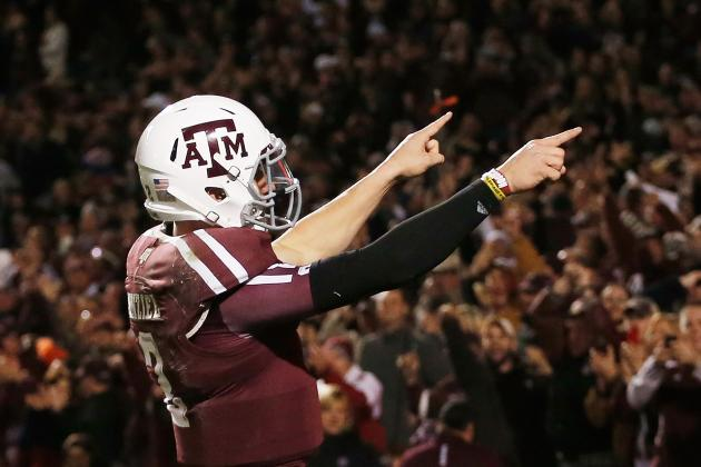 Johnny Manziel: How Does Texas A&M Star Compare with Past Heisman Winners?