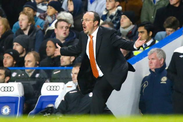 Pressure Grows on Benitez After Chelsea Misfire in 0-0 Draw with Fulham