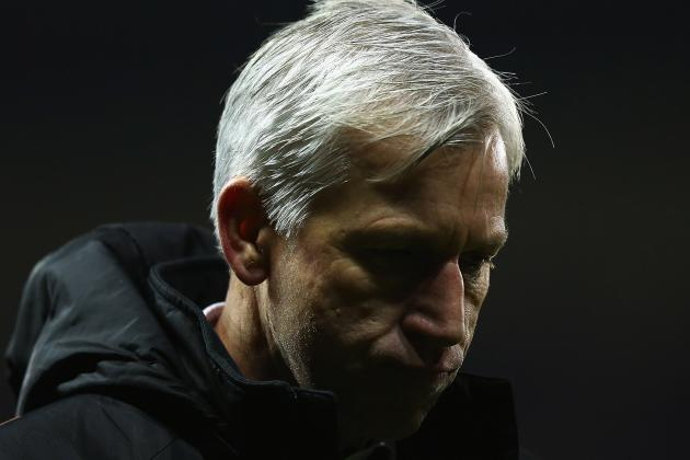 Alan Pardew Felt His Side Were the Better Team as Newcastle Lost 2-1
