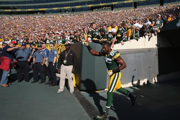 Greg Jennings: Packers Wideout Not WR1 Worthy in Fantasy Leagues
