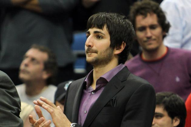 Ricky Rubio Cleared For Full-Contact Practice