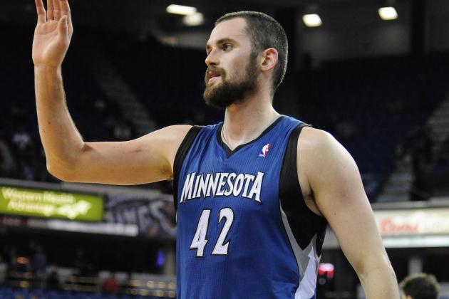 Kevin Love Can Joke About T'wolves' Racial Makeup Up to a Point