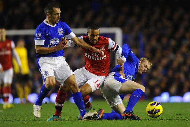 Everton 1-1 Arsenal: Assurance and Efficiency Still Missing from Arsenal's Game