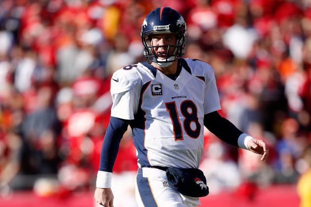 Peyton Manning: Denver QB Has Already Locked Up MVP