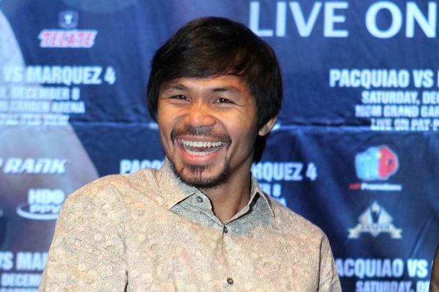 Will Manny Pacquiao Have Psy 'Gangnam Style' Phenom Walk Him to the Ring?