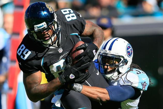 Marcedes Lewis: A Helpful Fantasy Football Tight End for the Stretch Run