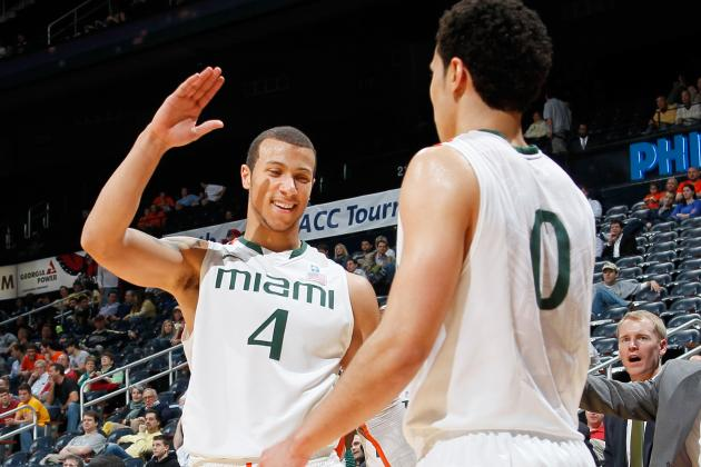 Miami 67, No. 13 Michigan St. 59