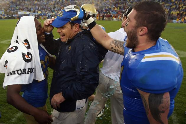 Pac-12 Championship: Why UCLA Win Would Cement Jim Mora as Bruin Hero