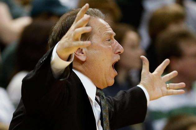 Michigan State's Tom Izzo Strongly Hints at Future Lineup Changes