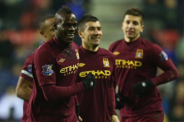 Manchester City: Mancini Not Impressed with Balotelli, Despite Goal