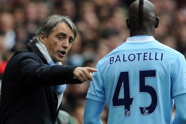 Mario Balotelli Does Still Not Impress Roberto Mancini