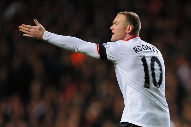 Wayne Rooney's Poor Form Should Concern Manchester United Fans