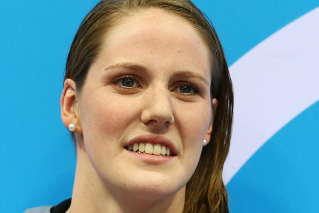 Olympic Star Missy Franklin Signs Up for High School Swimming Team