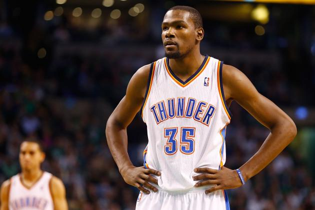 Kevin Durant Wins NBA Player of the Night After Torching James Harden's Rockets