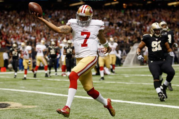 Colin Kaepernick Should Remain 49ers Starting QB for Rest of Season