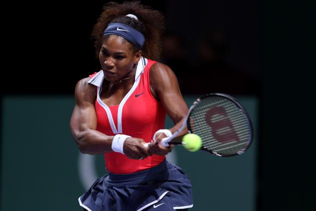 Serena Williams Announecd WTA 2012 Player of the Year Following Epic Season