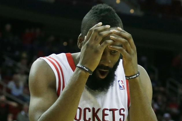 James Harden Still Has Plenty to Learn as Primary Option for Houston Rockets