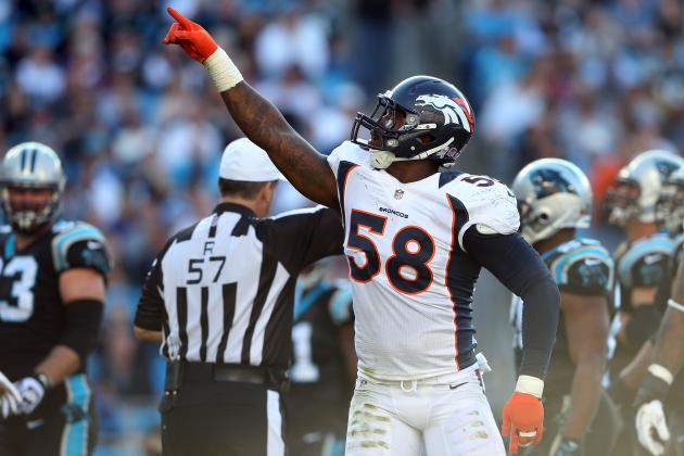 Von Miller Wins AFC Defensive Player of Month Honors