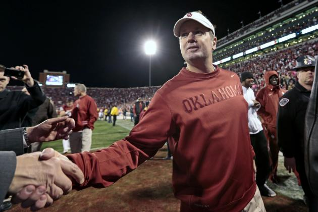 Bob Stoops Offers Kind Words for TCU Coach Gary Patterson