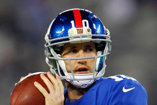 Eli Manning Eclipses 200-TD Milestone with New York Giants