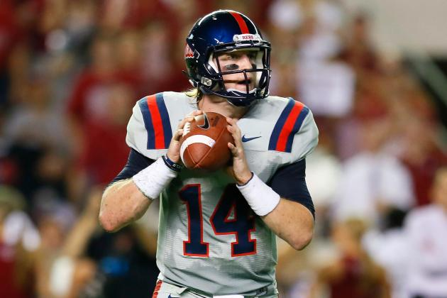 Rebs' Bo Wallace Wins Conerly Trophy